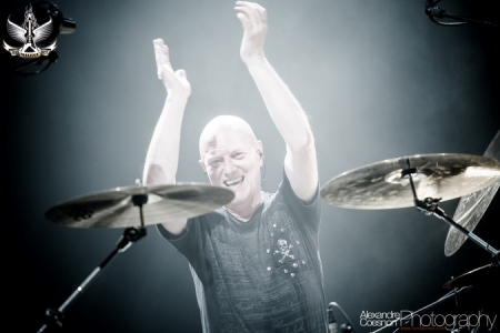 Big Noise Fest 2012 - Chris Slade Steel Circle | Le Brise Glace, Annecy.